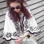 Seoul Secret Say's... Curly Stick Girly Bell Sleeves LOng Blouse thumbnail 7