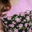 3 Size= XL,3XL,5XL ชุดเดรสสาวอวบ++ผ้า Sanfox พื้นดำ ทอลายดอกชมพู จุดเด่นของชุดนี้ตัดต่อด้านบน และแขนด้วยผ้า Hanako สีชมพู thumbnail 14