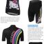 **สินค้าพรีออเดอร์**ชุดปั่นจักรยาน ผู้หญิง Kitty สีดำ (เสื้อ+กางเกงขาสั้น) thumbnail 5