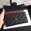 Chanel wallet สีดำ งานHiend Original thumbnail 8