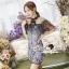 Seoul Secret Say's... Nista Party Flora Stickly Lace Dress thumbnail 1