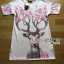 Lady Ribbon's Made Lady Lizzy Sweet Pretty Flower Reindeer Printed Dress thumbnail 5