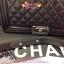 กระเป๋า Chanel Boy 10นิ้ว สีดำ thumbnail 2
