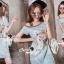 Seoul Secret Say's... Pastel Vintage Tiggy Softly Denim Dress thumbnail 5