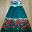 Sweet Bunny Present... Valentino tulip print maxi dress thumbnail 3