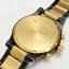 นาฬิกา NIXON Men Chronograph Chronograph Black Gold Dails Watch A083595 48-20 thumbnail 5