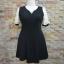 พร้อมส่งชุดดำ สำหรับสาวอวบ++ F 36-42นิ้ว T5100 thumbnail 8