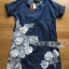 Lady Ribbon's Made Lady Elena Basic Insert Lace Denim Dress thumbnail 5