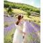 44907-ขาว ชุดเดรสสั้นสีขาว หน้าอกเย็บระบาย สวยเก๋ เปิดไหล่ สวยหวาน thumbnail 3