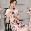 Seoul Secret Say's .... Violetta Blossom Softly Color Dress thumbnail 7