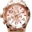 นาฬิกา NIXON Men Chronograph Chronograph Rose Gold Dails Watch A083897 48-20 thumbnail 1