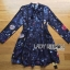 Lady Ribbon's Made Lady Caroline Funny Space Odyssey Printed Shirt Dress thumbnail 5