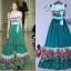 Sweet Bunny Present... Valentino tulip print maxi dress thumbnail 2