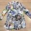 ClioNa made' Nadia Colorful Long Shirt Dress thumbnail 5