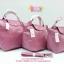 Longchamp Le Pliage Cuir size L สีชมพูนม รุ่นหนัง thumbnail 1
