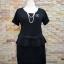 ชุดดำ สำหรับสาวอวบ++ F 36-43นิ้ว T5101 thumbnail 9