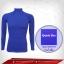 เสื้อรัดกล้ามเนื้อรุ่น Quick Dry มีรูระบายอากาศ สีน้ำเงิน mediumvioletred thumbnail 1