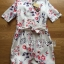 Lady Ribbon's Made Lady Pam Feminine Chinese Blossom Printed Dress thumbnail 5