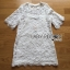 Lady Ribbon's Made Lady Delphina Classic Minimal Guipure Lace Dress สีขาว thumbnail 4