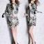ClioNa made' Nadia Colorful Long Shirt Dress thumbnail 4
