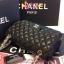 Chanel classic 10นิ้ว สีดำ หนังLampskin thumbnail 5