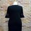 ชุดดำพร้อมส่ง สำหรับสาวอวบ++36-43 นิ้ว T5104 Sale thumbnail 4