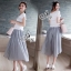 Sevy Moshino Pleat Chiffon Long Skirt thumbnail 5
