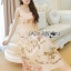 Lady Ribbon's Made Lady Alexandria Little Princess Silk and Embroidered Tulle Dress thumbnail 7