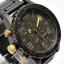 นาฬิกา NIXON Men Chronograph Chronograph Black Gold Dails Watch A0831041 48-20 thumbnail 3