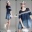 Korea Design By Lavida fashionable loose fitting casual denim dress thumbnail 4