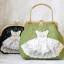 กระเป๋าสะพาย สีเขียวอ่อน thumbnail 5