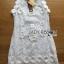 Lady Ribbon's Made Lady Christine Little Daisy Embroidered White Lace Mini Dress thumbnail 7