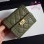 Chanel boy wallet สีเขียว งานHiend Original thumbnail 5