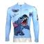 **พรีออเดอร์** เสื้อแขนยาวปั่นจักรยาน ลายการ์ตูน เสื้อจักรยาน sticth สีฟ้า สดใส ลายสวย thumbnail 2