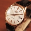 Orient Automatic White Dial Rose Gold Tone Leather Strap FER24002W thumbnail 2