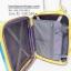 กระเป๋าเดินทางยี่ห้อ Hipolo 100% PC สีฟ้ามุมเหลือง ขนาด 20 นิ้ว thumbnail 6