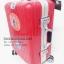 กระเป๋าเดินทางล้อลาก สีแดง ขอบอลูมิเนียม ไซส์ 20 นิ้ว thumbnail 3