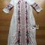 Lady Ribbon's Made Lady Lea Boho Colourful Flower Embroidered Midi Dress สีขาว thumbnail 5