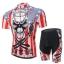 **สินค้าพรีออเดอร์**ชุดจักรยาน king of the skull(เสื้อแขนสั้น + กางเกงเอี้ยมปั่นจักรยาน) thumbnail 1