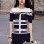 Seoul Secret Say's... Chic Stripy Knitty Dress thumbnail 2