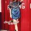 Seoul Secret Say's...Indian Girl Color Stickly Denim Blouse thumbnail 7