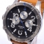 นาฬิกา NIXON Men Chronograph Chronograph Brown Leather Watch A3631602 48-20 thumbnail 2