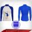 เสื้อรัดกล้ามเนื้อ รุ่น Quick Dryกอล์ฟ มีรูระบายอากาศ สีน้ำเงิน mediumvioletrd thumbnail 1