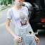 Seoul Secret Say's .... Plaitly Chic Lambent Furnish Dress thumbnail 3