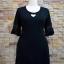 ชุดดำพร้อมส่ง สำหรับสาวอวบ++36-43 นิ้ว T5104 Sale thumbnail 2