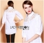 Lady Ribbon's Made Lady Serena Feminine Basic Cotton and Lace Shirt Dress thumbnail 3