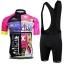 **สินค้าพรีออเดอร์** ชุดปั่นจักรยาน สวยๆ,ชุดปั่นจักรยาน onepiece เสื้อจักรยานแขนสั้น+กางเกงเอี้ยมปั่นจักรยาน thumbnail 1