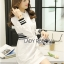 Lady Ribbon's Made Lady Alana Minimal Chic White Cotton Shirt Dress thumbnail 1