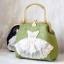 กระเป๋าสะพาย สีเขียวอ่อน thumbnail 4