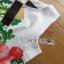 Lady Ribbon's Made Lady Rosie English Roses Printed White Sleeveless Dress thumbnail 9